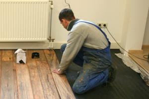 Eikenhouten Vloer Leggen : Eiken vloer leggen